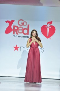 NEW YORK, NY - FEBRUARY 08: Actor Marisa Tomei walks the runway during the American Heart Association's Go Red For Women Red Dress Collection 2018 presented by Macy's at Hammerstein Ballroom on February 8, 2018 in New York City. (Photo by Slaven Vlasic/Getty Images for AHA) *** Local Caption *** Marisa Tomei