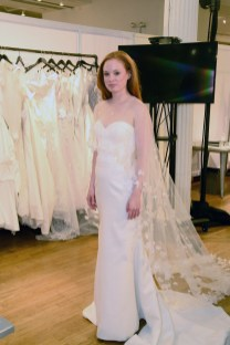 A bridal gown from Justin Alexander at The Knot Couture.