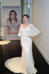 A bridal gown from Beaute Comme Toi at The Knot Couture.