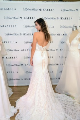 A bridal gown from Paloma Blanca/ Mikaela at The Knot Couture.