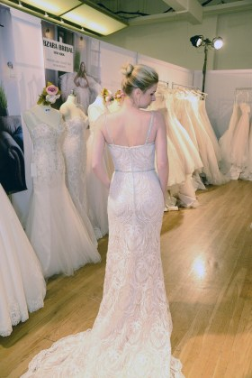 A gown from Bzara Bridal at The Knot Couture.