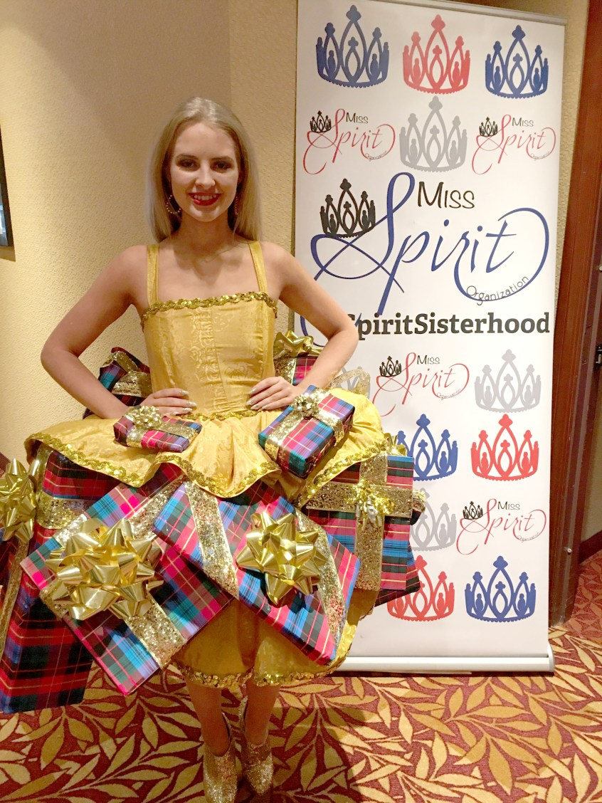 Ava King at the Miss Spirit of the Holidays Pageant fundraiser for Tots for Tots this last November. Ava won Mini Supreme 12 yrs+ (3rd overall 12 yrs+)