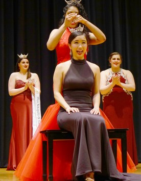 Sherry Wu is crowned Miss North Haven.