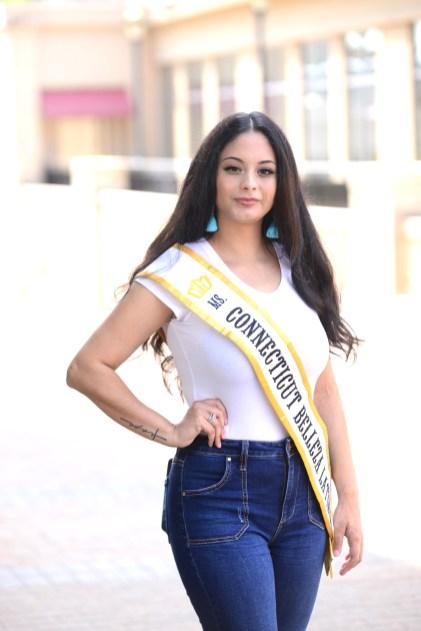 Catherine Cortes, Ms. Connecticut Belleza Latina.