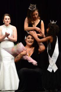 Leah Juliett is crowned Miss Greater Rockville.