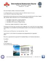 IIC Nova Scotia 2018 – Welcome Package