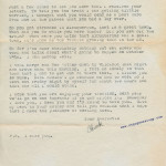 Letter from my dad to my mom before they were married