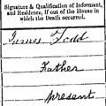 James Todd signature