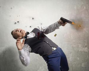 Man dies in shootout
