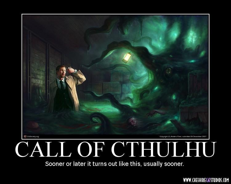 Let's Talk Call of Cthulhu RPG!