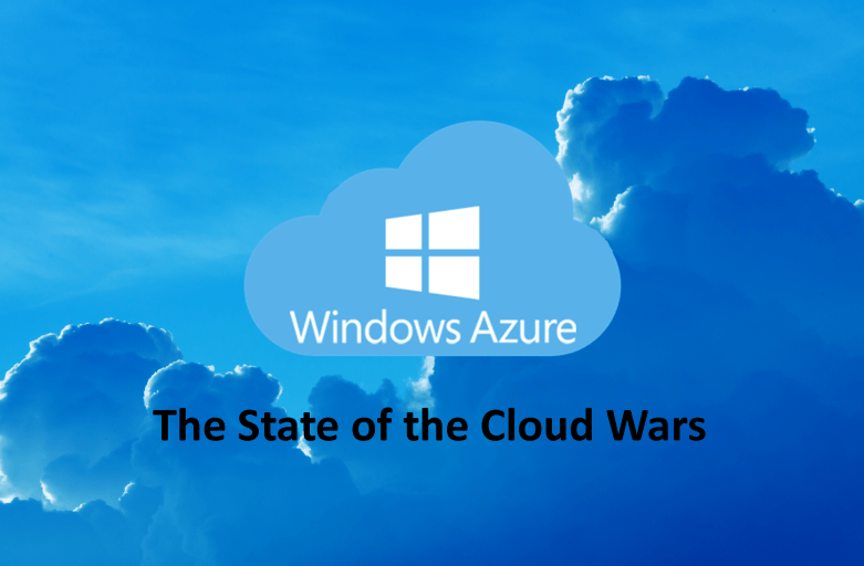 "Microsoft Azure a top contender in the ""Cloud Wars"""