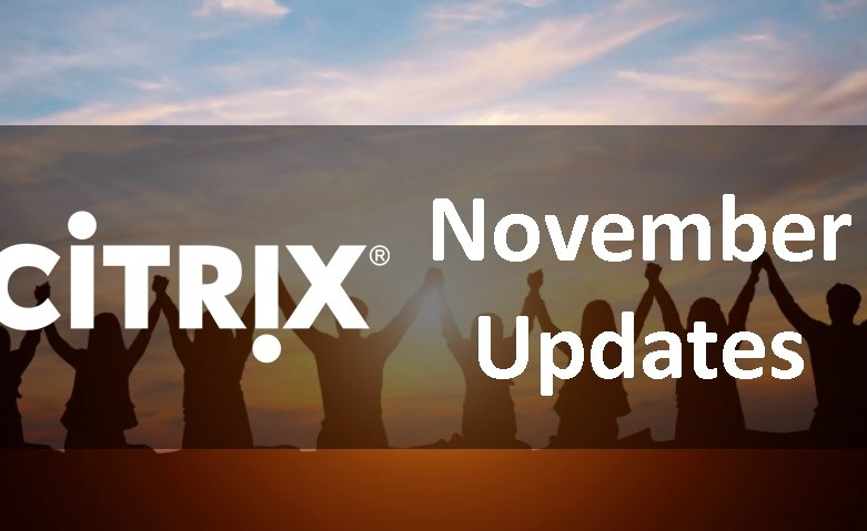 New updates for XenApp and XenDesktop for November 2017