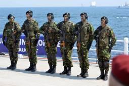 Militarii s-au pregatit pentri Ziua Armatei RomâneFOTO Ovidiu Oprea