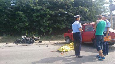 Accident mortal la Medgidia. Un motociclist și șoferul unui autoturism Dacia și-au pierdut viața