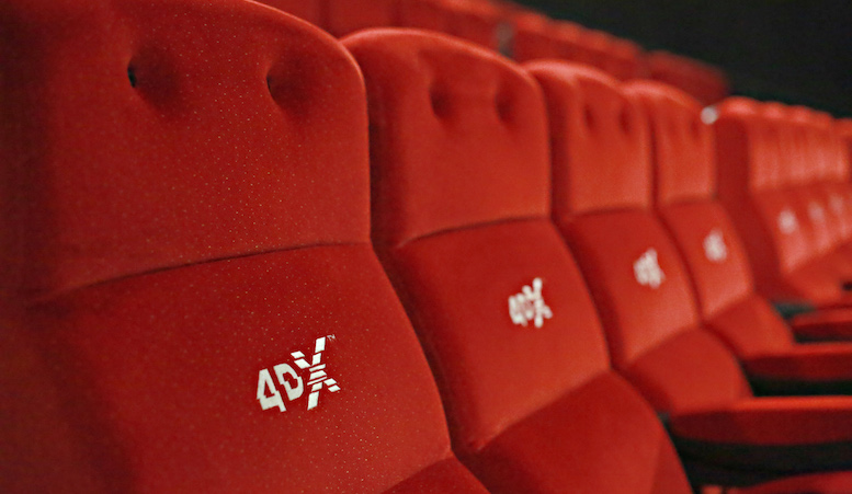 Cinema City. Sala de film 4DX