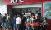 Nici de la KFC nu puteai să mai mănânci. FOTO ctnews.ro
