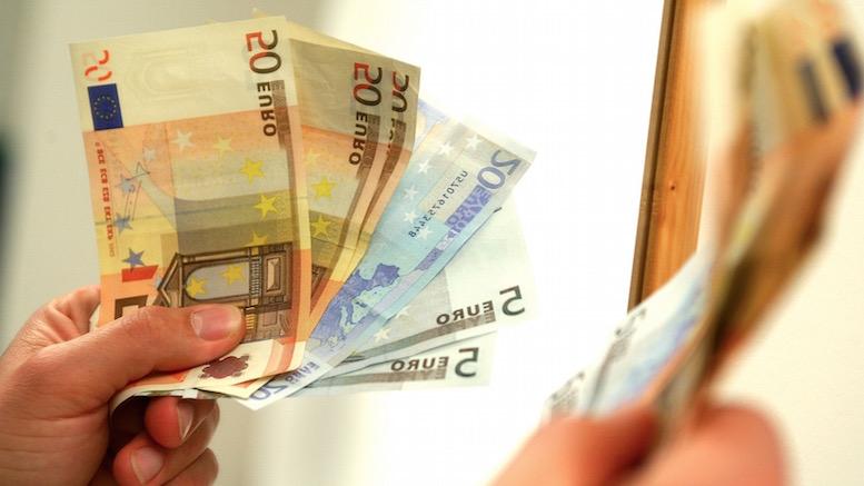 Spaga, euro, mita