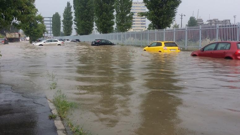 ARHIVă - Inundații în Constanța. FOTO pr. Eugen Tănăsescu