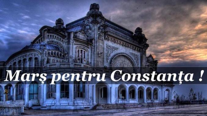 Marș pentru Constanța. FOTO facebook