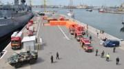 Aplicație militară în Portul Constanța. FOTO navy.ro
