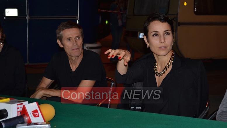 Willem Dafoe și Noomi Rapace. FOTO Adrian Boioglu