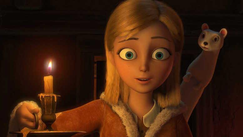 Copiii pot să devină un personaj din Crăiasa Zăpezii