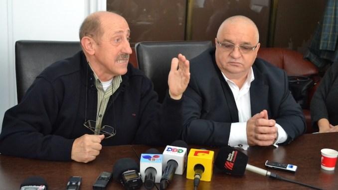 Felix Stroe și Gheorghe Donțu. FOTO Adrian Boioglu