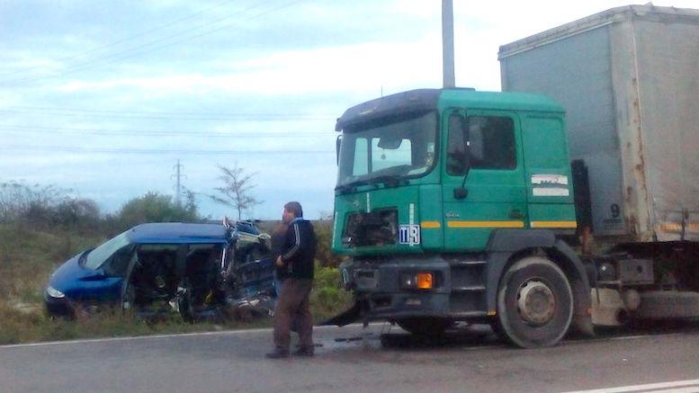Accident la intrare în Constanța
