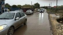 Drumul din Corbu se îngustă