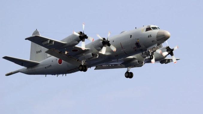 Aeronava P-3C Orion ajunge la Constanța. FOTO Mass Communication Specialist 3rd Class Juan Antoine King