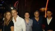 Radu Mazăre și Tania Budi, în club LUV. FOTO Facebook