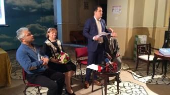 Speech-urile de început. FOTO Adrian Boioglu