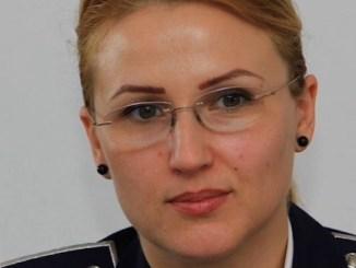 subcomisar Carmen Șerbănescu. FOTO Arhiva Personală