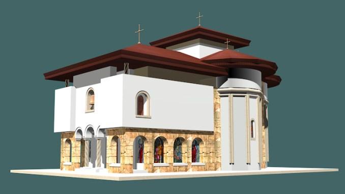 Prima biserică din Mamaia