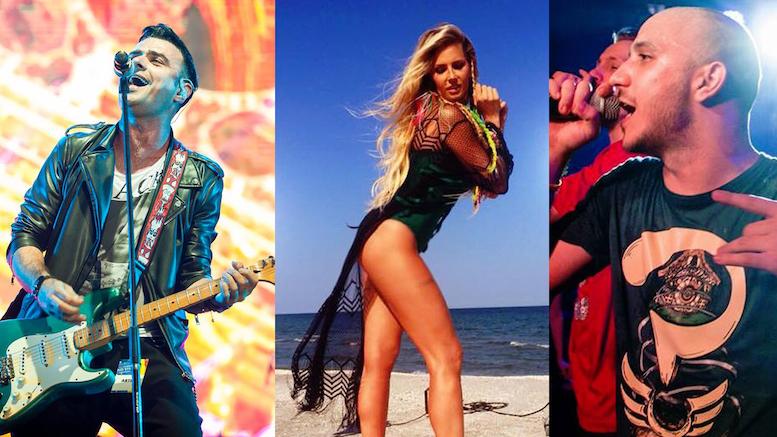 Vunk, Andreea Banică și Guess Who cântă la Constanța de Revelion. FOTO: Facebook. Colaj: Constanța NEWS - www.ctnews.ro