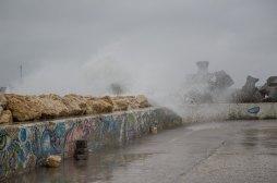 Furtnă de Cod Portocaliu la Mamaia. FOTO Cătălin Schipor