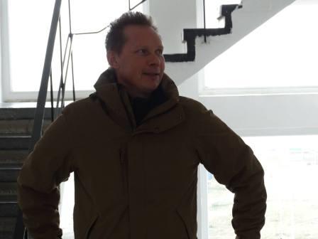 Adrian Constandache la Aeroportul Tuzla