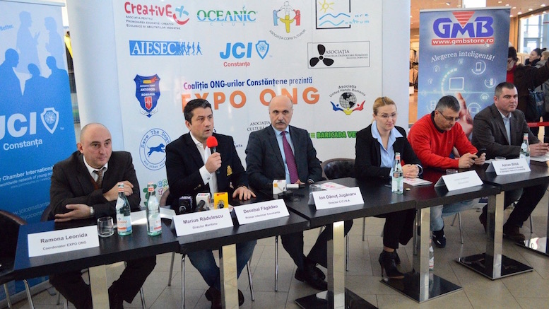 Conferința de deschidere Expo ONG. FOTO Ovidiu Oprea