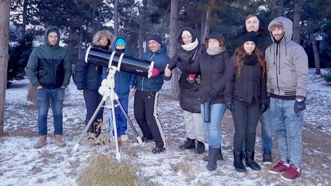 Vizitatori la Observatorul Astronomic din Constanța