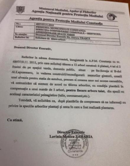 Agenția de Mediu Constanța și-a dat acordul