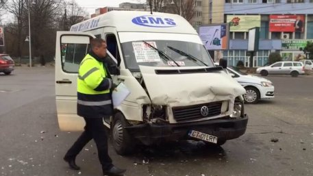 Accident maxi-taxi