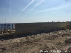 Zidul de la Mangalia. FOTO petitieonline.com