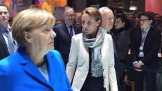 Angela Merkel la CeBIT 2016