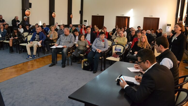 Întâlnire Primăria Constanța – ONG-uri. FOTO Adrian Boioglu