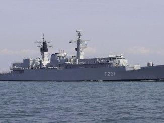 """Fregata """"Regele Ferdinand"""". FOTO navy.ro"""