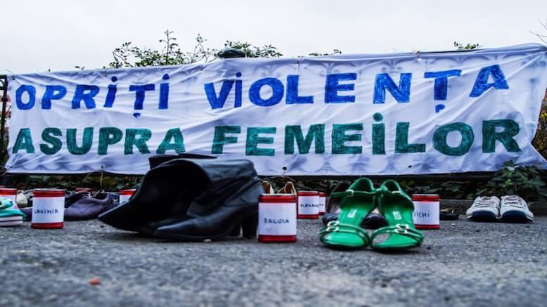 Campania anti-violența împotriva femeilor