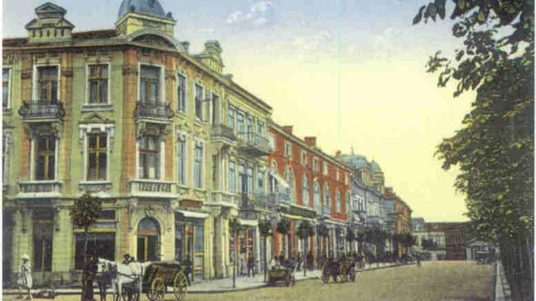 Strada Carol din Constanța era Vadul Negustorilor. FOTO roconstanta.tripod.com