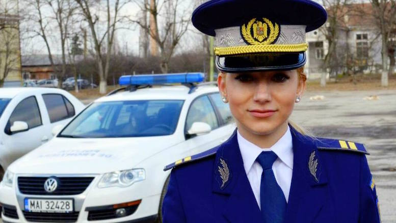 Angajat al Poliției de Frontieră. FOTO Facebook