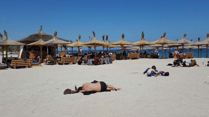 Plaja din Vama Veche. FOTO CTnews.ro