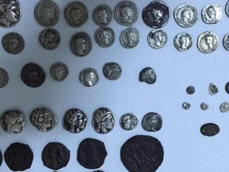 Monede bizantine descoperite la Vama Veche